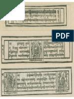 Vimamitra's Commentary on Manjushri Nama Sangirti Tantra (Large File Size)