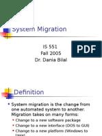 System Migration.ppt