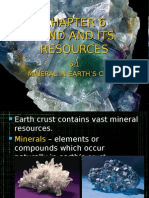 6.1 Minerals in Earth's Crust