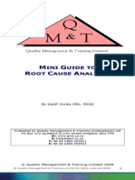 Mini Guide to Root Cause Analysis