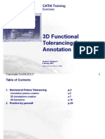 3D Tolerancing & Annotation 1