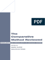 Mark Durie, Malcolm Ross the Comparative Method Reviewed- Regularity and Irregularity in Language Change