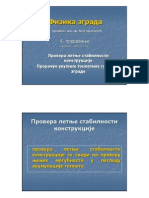 04-stabilnost, toplotni gubici__ARHITEKTONSKA FIZIKA_predavanje_Arhitektonski fakultet u Beogradu