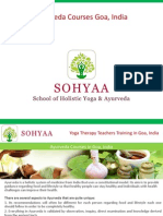 Yoga Therapy Teachers Training in Goa, India