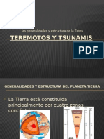 Teremotos y Tsunamis