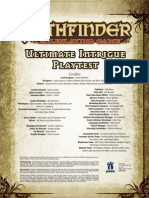 Intrigue Play Test