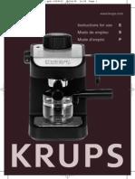 Krups Espresso Machine Tips