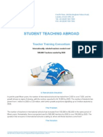 Student Teaching Abroad