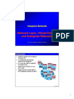 Virtual Circuits and datagram
