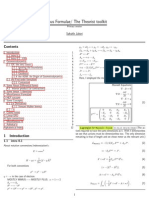Some notes about mathematical Physics
