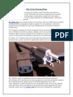 IEC-C14 3 Prong Plug