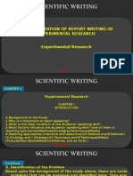 9.10.Scientific Writing Exp. (10 -11)