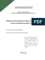 Otimização Termoeconômica Da Produção de Etileno e Propileno