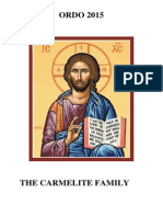 Carmelite Ordo for 2015