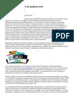 Blog sobre el diseno de paginas web