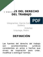 Fuentes Del Derecho Del Trabajo Individual