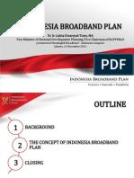 Broadband plan Indonesia