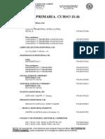 Listado de Libros de Texto Con Isbn 15-16