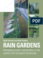 Rain Gardens - Managing Water Sustainability in the Garden and Designed Landscape