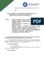 Instructiuni Privint Autorizarea Centrelor de Evaluare