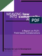 Weaving Law