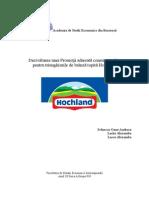 Dezvoltarea unei Promoţii adresată consumatorilor pentru triunghiurile de brânză topită Hochland