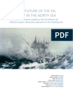 The dire future of the oil industry in the North Sea