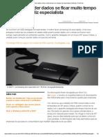 SSD Pode Perder Dados Se Ficar Muito Tempo Sem Energia, Diz Especialista _ Notícias _ TechTudo