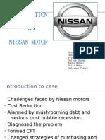 Leadershipship of Carlos Ghosn in  Nissan Motor