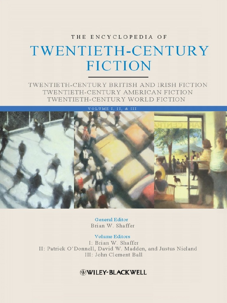 Brian w shaffer the encyclopedia of twentieth century fiction fandeluxe Image collections
