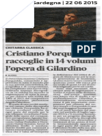 [ITA] - La Nuova Sardegna sul nuovo cofanetto Brilliant Classics