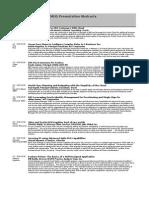 TD Presentations Web
