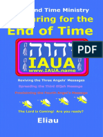 Preparing for the End of Time
