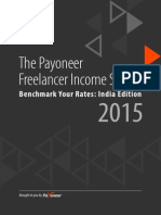 Freelancer Income Survey India Edition 2