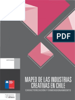 Mapa de industrias creativas en Valparaíso