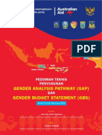 Pedoman Teknis Penyusunan Gender Analisis Pathway Gap Dan Gender Budget Statement Gbs