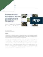 Basics Aircraft Maintenance Reserve