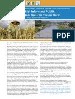 Booklet Informasi Publik Rehabilitasi Saluran Tarum Barat