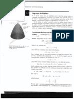 Lagrange Multipliers (Thomas)
