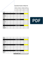 SIS Daily Tracking Sheet 2015 - Excel format