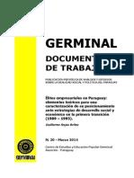 ELITES EMPRESARIALES EN PARAGUAY- GUILLERMO ROJAS BRITEZ - N 20 MARZO 2014 - PORTALGUARANI