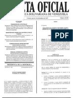 Decreto 1505 Tasas Aduaneras GO 40555 04 Dic 2014