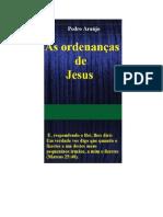 As Ordenanças de Jesus