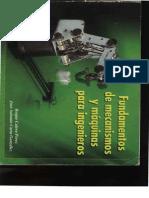 Fundamentos de Mecanismos y Maquinas Para Ingenieros - Roque Calero y Jose Carta
