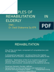 Day 3 Principles of Rehabilitation in Elderly the Newest