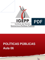6.1-A Concepcao de Ciclo de Politicas. as Fases Do Ciclo de Politicas Publicas.[1]