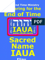 Sacred Name IAUA