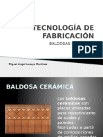 Baldosa cerámicas_Tecnología de Fabricación.pptx
