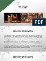 Preparacion y elaboracion del Whisky