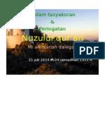 Poster Nuzulul Quran